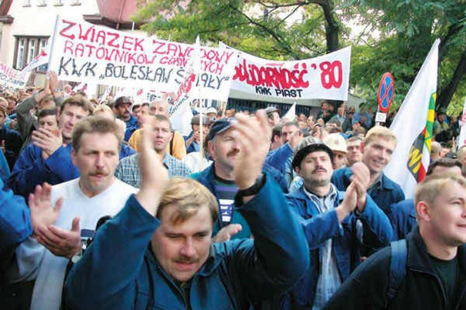 Strajk na Śląsku pewny. Piechociński apeluje, by nie był dotkliwy