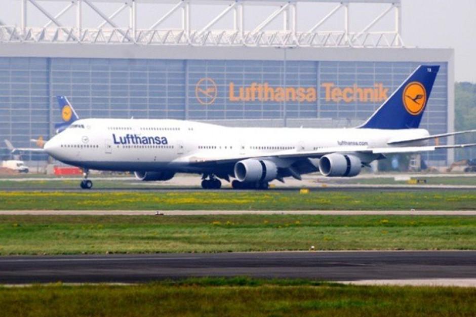 Lufthansa uziemiona: personel zapowiedział strajk