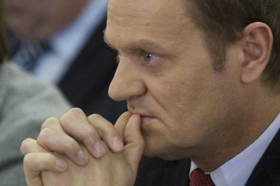 Tusk: nie naruszyłem przepisów informując o zmianach w PGNiG