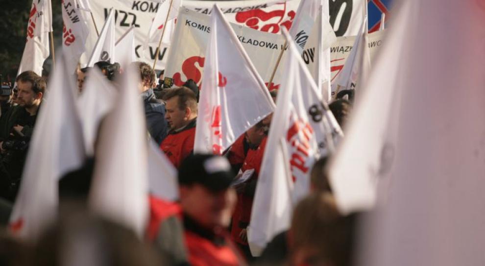 Protestowali przeciw zmianom w kodeksie pracy