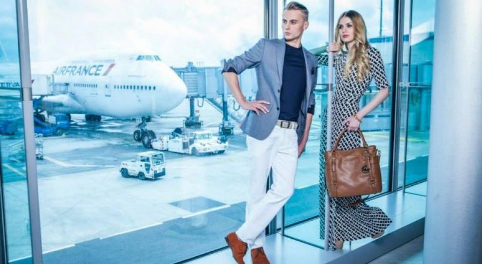 Paryż, moda, lotnisko i Marcin Sokołowski z Zabrza