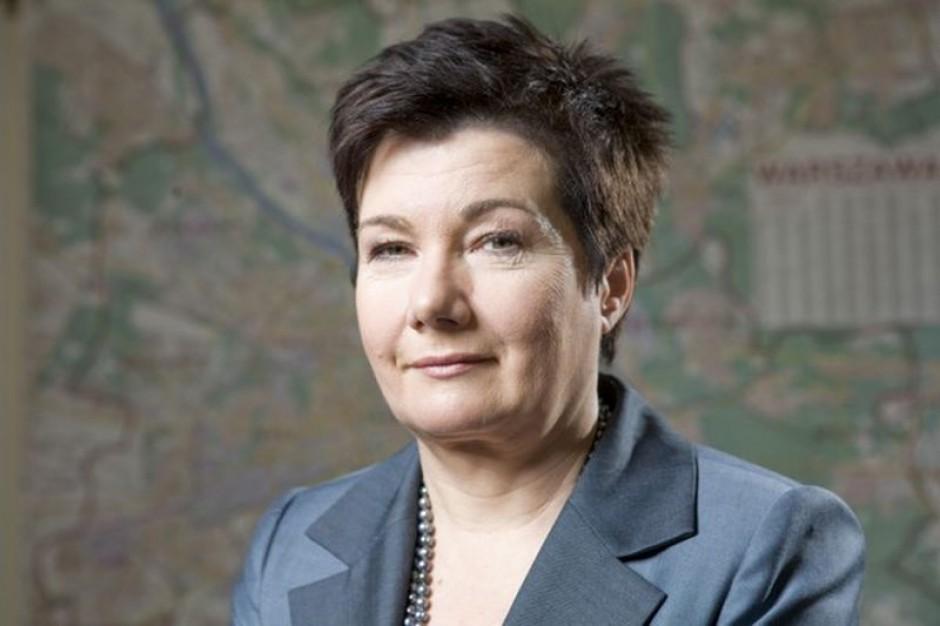 Hanna Gronkiewicz-Waltz apeluje do szefów związków zawodowych