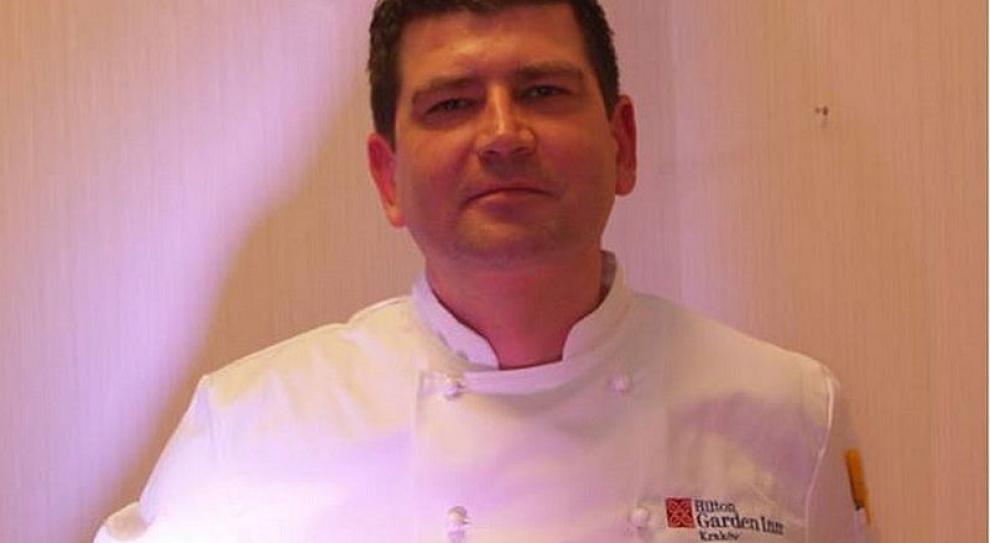 Piotr Pabisiak nowym szefem kuchni w Hilton Garden Inn