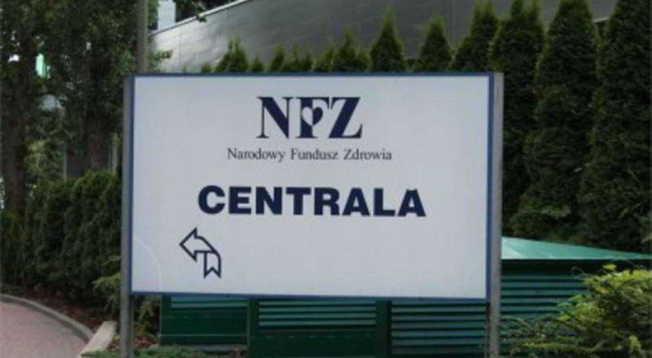 Pracownicy prywatnego szpitala okupują siedzibę NFZ
