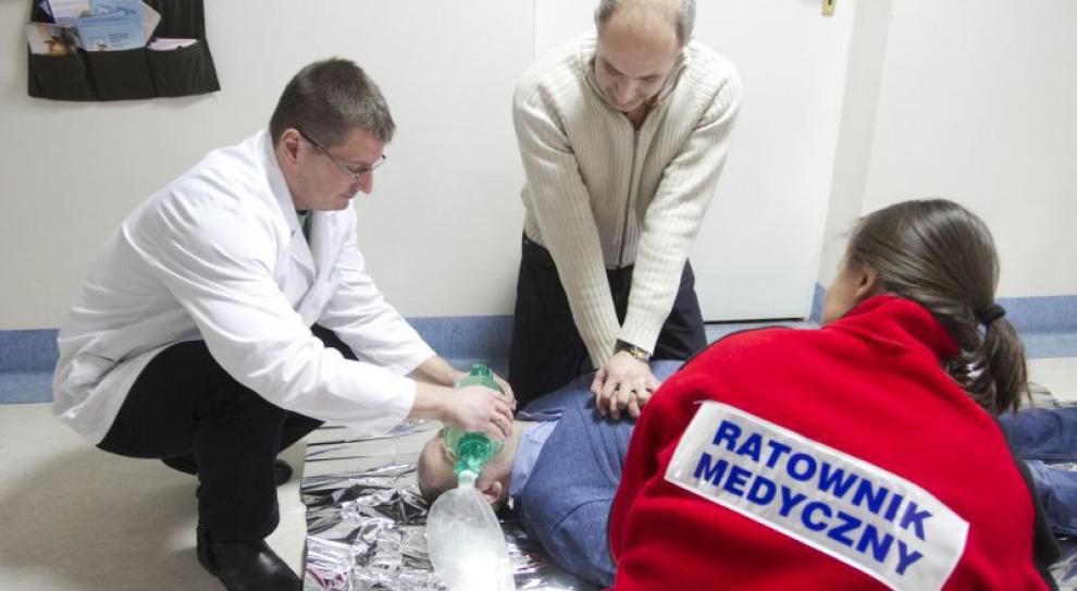 W kraju pracuje 11 tys. ratowników medycznych