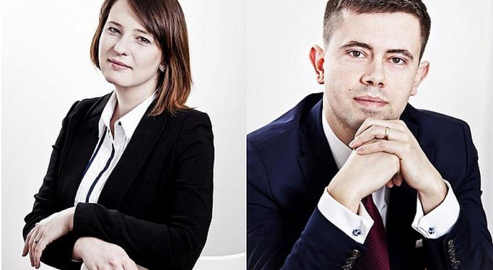 Mateusz Siejka i Magdalena Tomaszewska dołączyli do zespołu nowo otwartego biura Palmer Capital