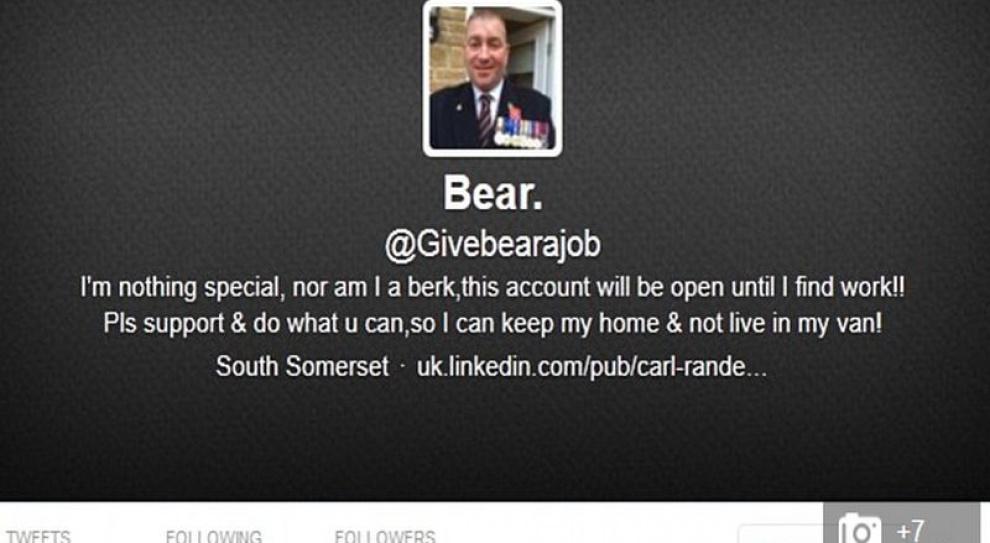 Nieodkryty potencjał Twittera? Tak były wojskowy znalazł pracę