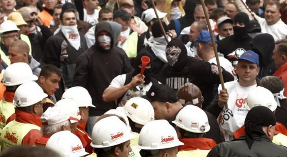 Katowice: górnicy wykrzyczeli swoją złość