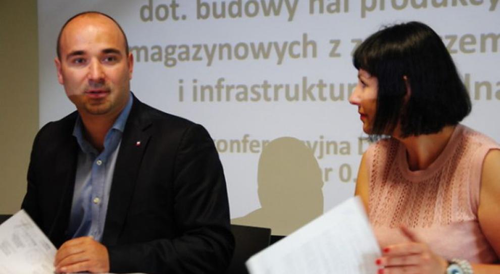 Nowe hale - nowe miejsca pracy w Kielcach