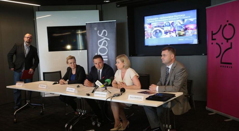 Liczba zatrudnionych w Infosys BPO Poland przekroczyła 2000 osób