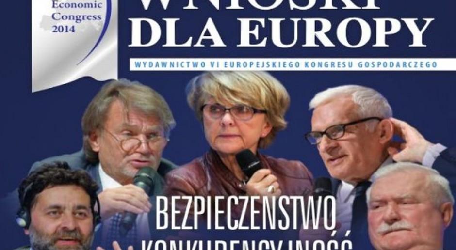 VI Europejski Kongres Gospodarczy podsumowany