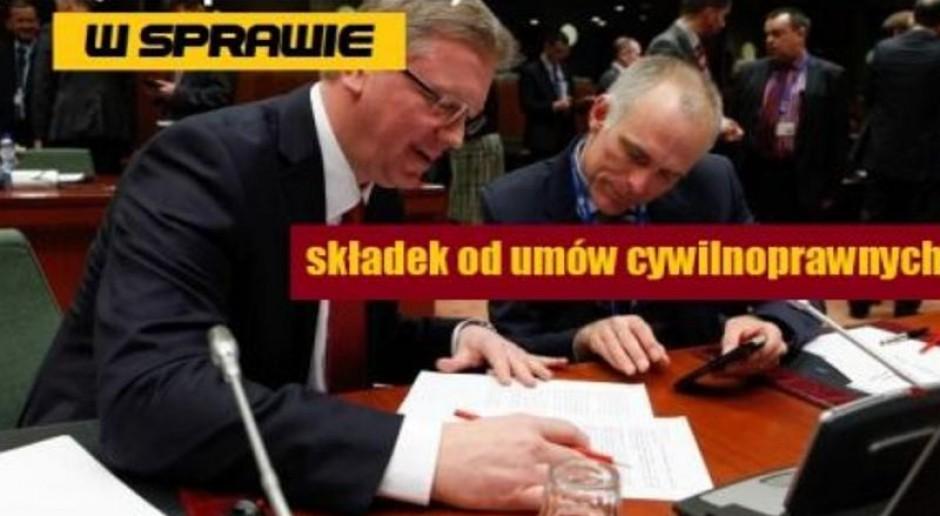 Związki zawodowe i organizacje pracodawców popierają ozusowanie umów