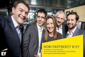 Kicińska, Popowski, Rozkrut, Smolarek i Tynel - oto nowi partnerzy w EY