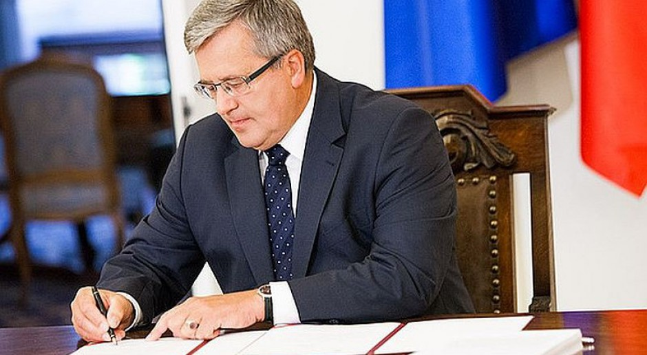 Nowela ws. ubiegania się o powrót do korporacji zawodowych podpisana