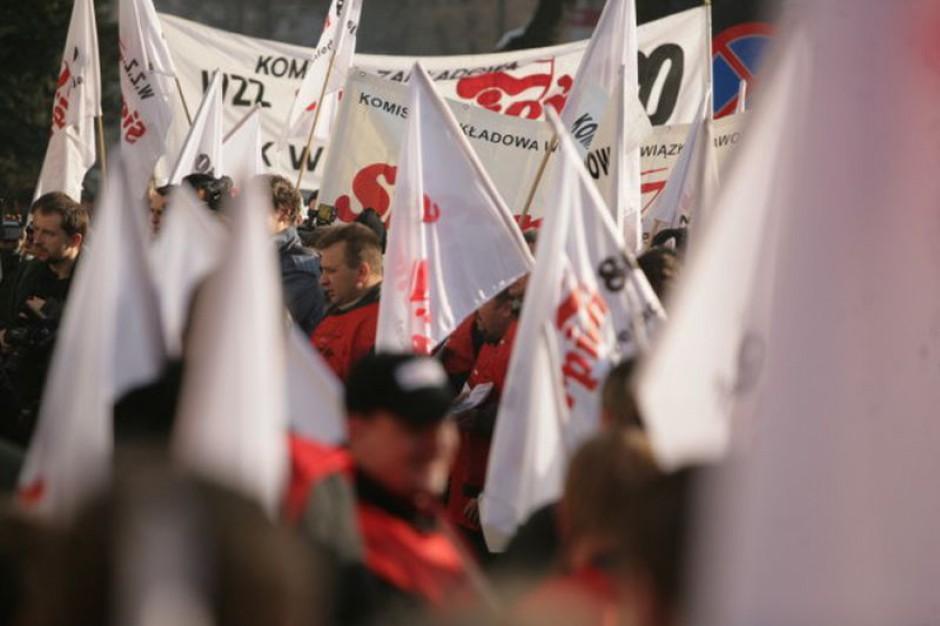 Strajk ostrzegawczy w Gryfii