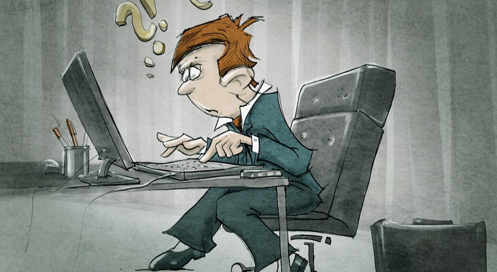 Zasadzka na internetowych bumelantów, czyliszef podgląda, copracownik robi wsieci