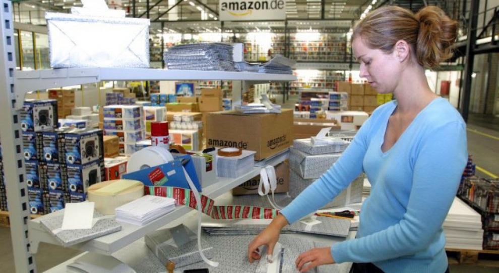 Amazon werbuje ludzi do pracy. Będą pracować cztery dni w tygodniu