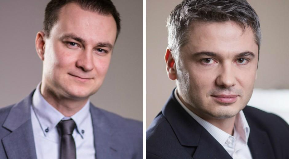 Bartosz Kalinowski i Krzysztof Wilczek awansowali w Skanska