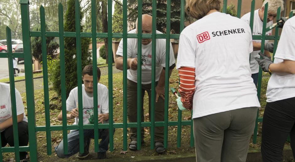 Pracownicy DB Schenker Rail Polska podsunęli pomysł wolontariatu, a firma ich wsparła