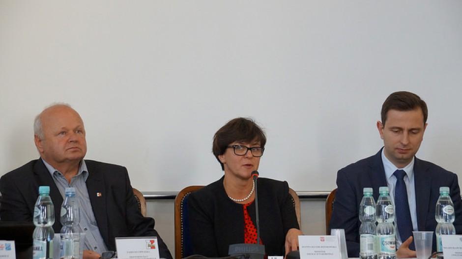 Kluzik-Rostkowska: Technika mają dawać solidne wykształcenie i zawód