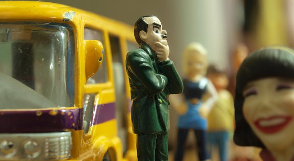 Pracownicy PKS-u schowali autobus, bo nie dostają pensji...