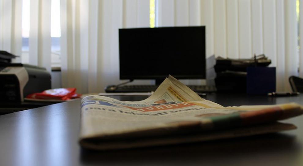 """Gremi Business Communication wprowadziło """"politykę czystych biurek"""". Dziennikarze wzięli się za sprzątanie"""