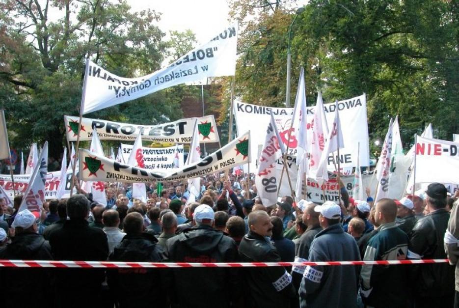 Protesty w Polsce: Śladem górników idzie sektor MŚP