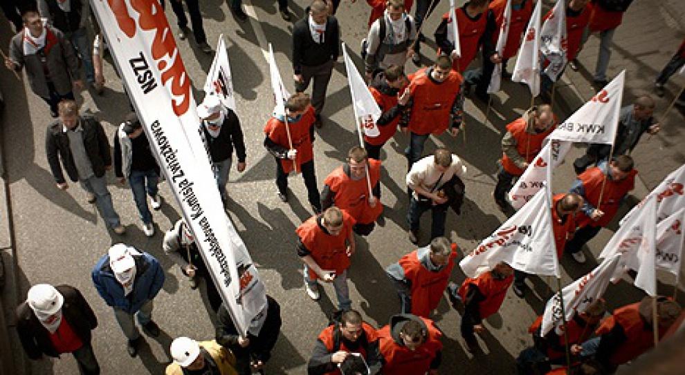 Górnicy nadal okupują Kompanię Węglową. Czego oczekują?