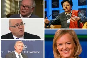 Warren Buffet, Meg Whitman oraz Indra Nooyi radzą, co zrobić, by dojść na szczyt