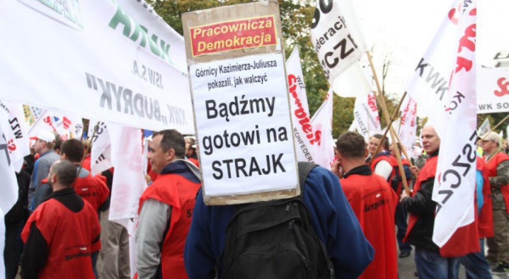 Związkowcy w JSW przyłączą się do protestu w JZR?