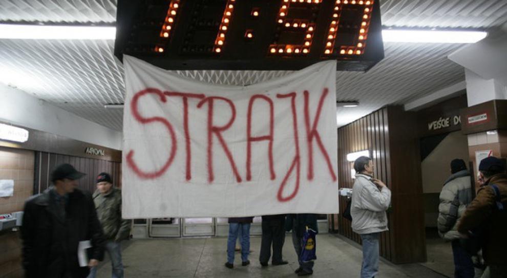Protest w kopalni Chwałowice. Górnicy strajkują, bo nie dostali wypłat