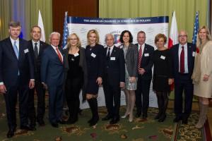 Nowy skład Rady Dyrektorów Amerykańskiej Izby Handlowej w Polsce