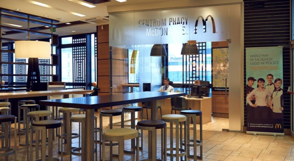 McDonald`s otwiera Centrum Pracy w Polsce