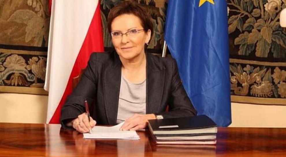 Odbyło się spotkanie z udziałem premier Kopacz ws. polskich przewoźników
