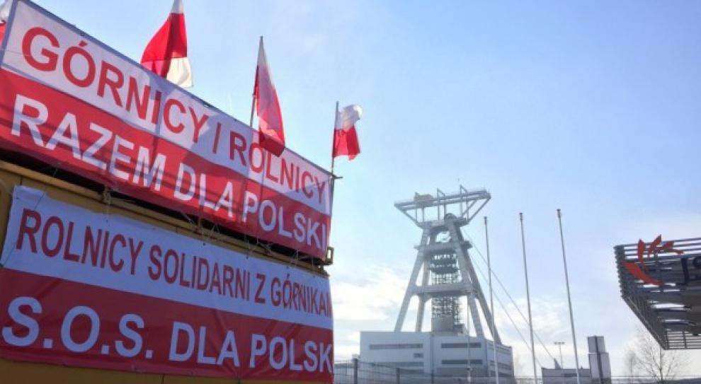Górnicy kontynuują protest w JSW. Planowane są akcje solidarnościowe