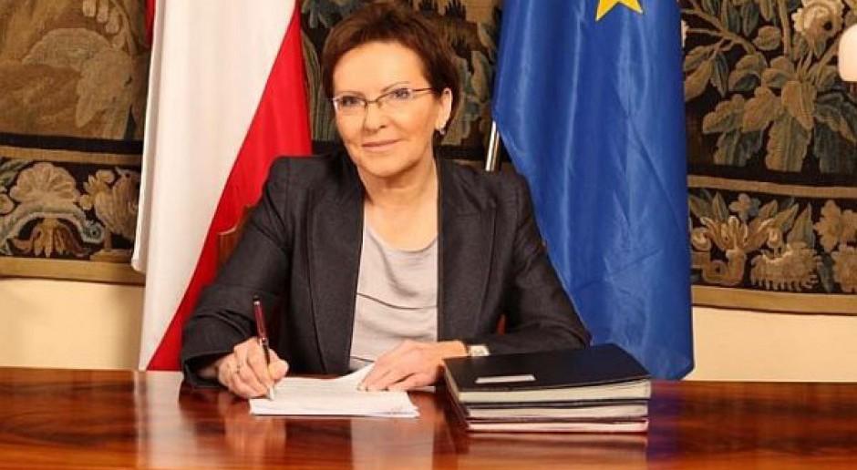 Premier Kopacz daje wskazówki urzędnikom