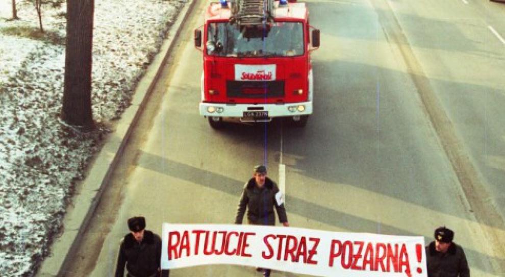 Akcja protestacyjna w jednostkach Państwowej Straży Pożarnej