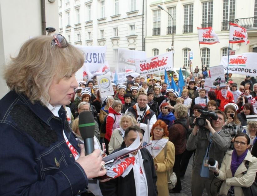 NSZZ Solidarność: Kopacz jako minister zdrowia zrujnowała system opieki zdrowotnej
