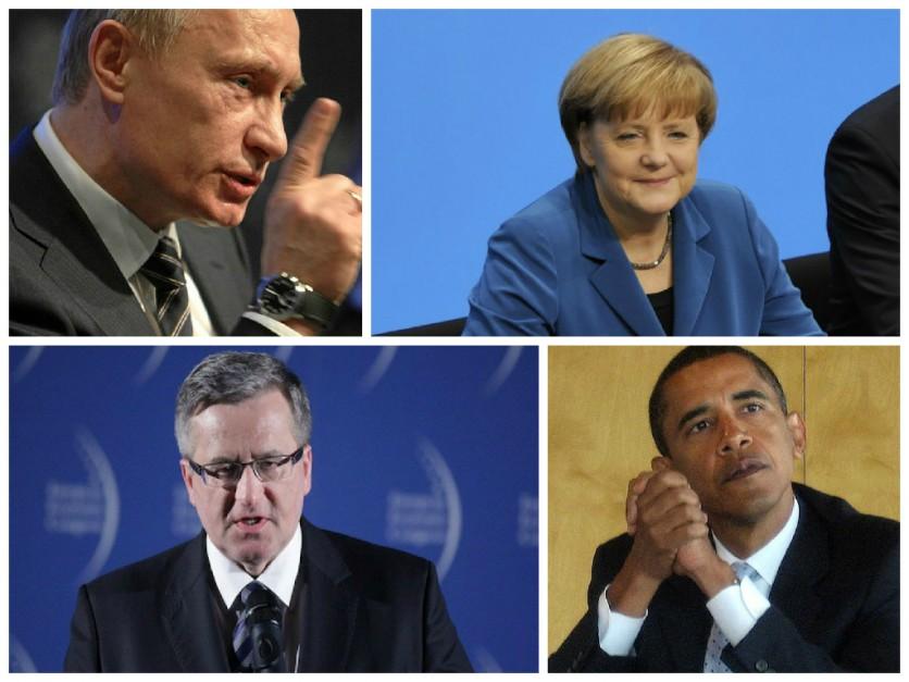 Komorowski, Merkel, Obama czy Putin. Kto zarabia najwięcej?