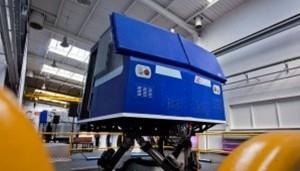 Maszyniści PKP Intercity szkolą się na nowoczesnym symulatorze jazdy lokomotywą