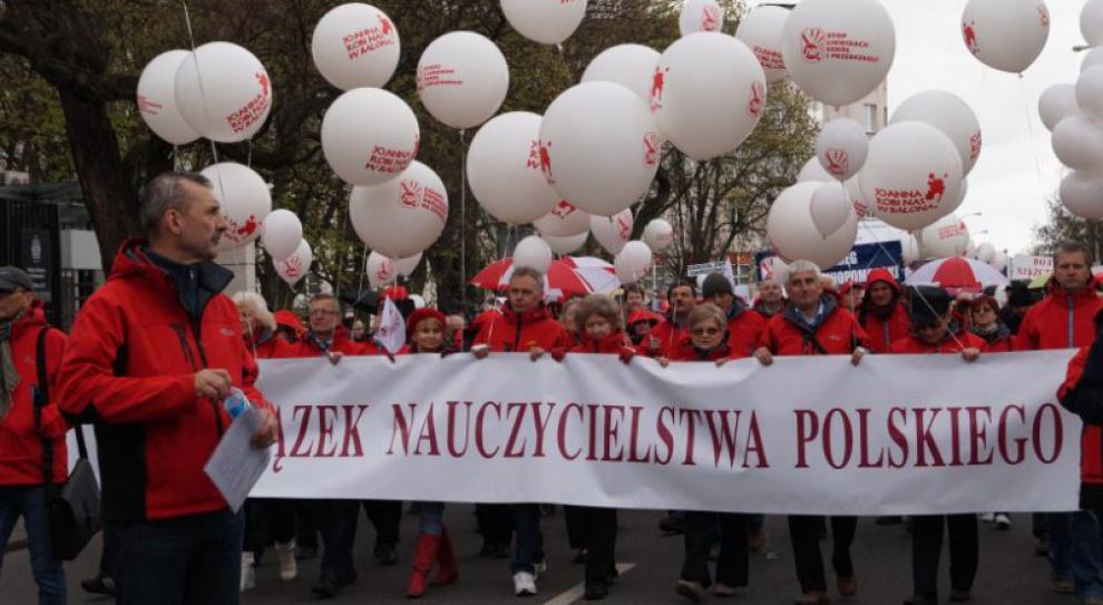 Nauczyciele mają dość polityki Joanny Kluzik-Rostkowskiej. Będą protestować