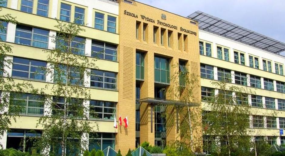 Szkoła Wyższa Psychologii Społecznej zyskała status uniwersytetu