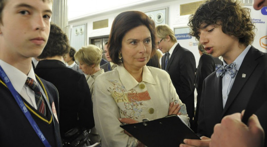 Małgorzata Kidawa-Błońska nowym marszałkiem Sejmu