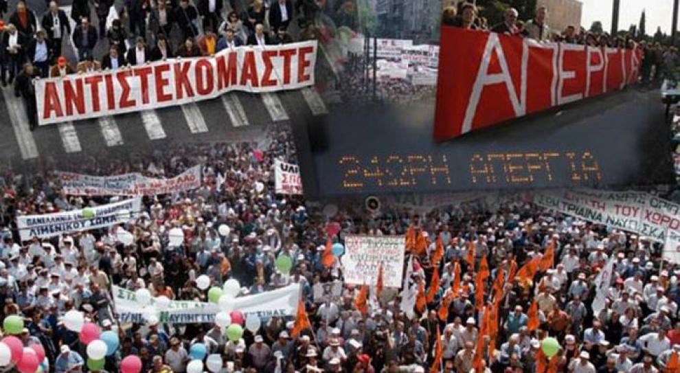 Pracownicy sektora publicznego w Grecji strajkują przeciwko polityce oszczędności