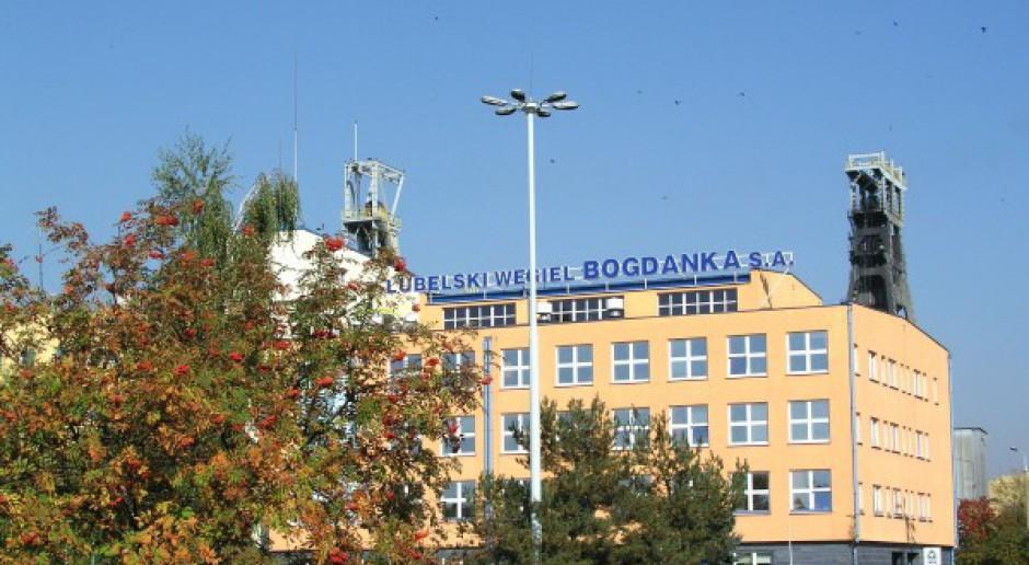 Pikieta: Związkowcy z kopalni Bogdanka bronią miejsc pracy