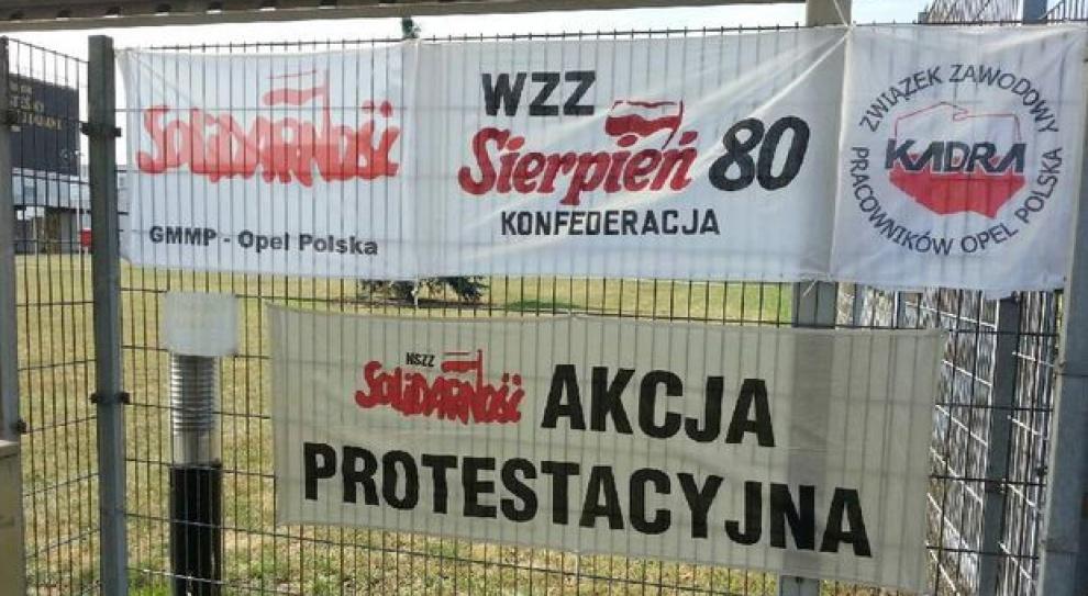 """Zaostrza się konflikt w Oplu. Związkowcy: """"Strajk to ostateczność"""""""