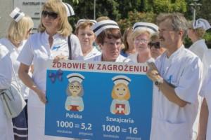 Pielęgniarki domagają się 1500 zł podwyżki. MZ proponuje docelowo 600 zł
