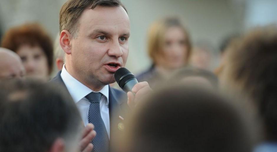 Andrzej Duda: Jeśli nie złożę projektów dot. wieku emerytalnego i kwoty wolnej, ustąpię z urzędu