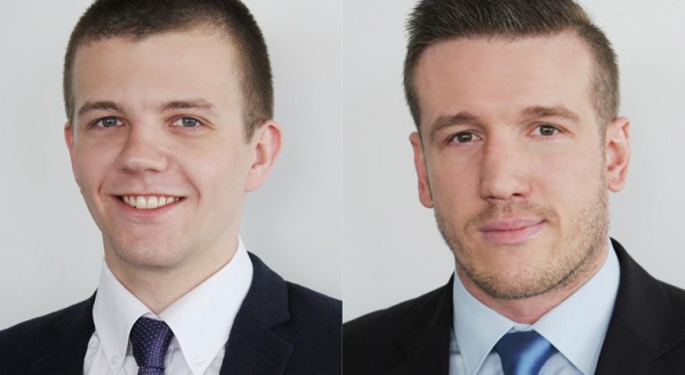 Rafał Janowicz oraz Piotr Łopusiński w Savills