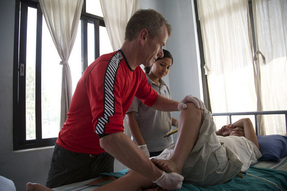 Fizjoterapeuta sam postawi diagnozę i zleci zabieg